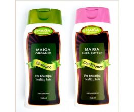 Organic Shea Shampoo and Conditioner Combo Pack